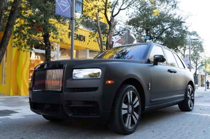 Rolls Royce Cullinan Matt Black