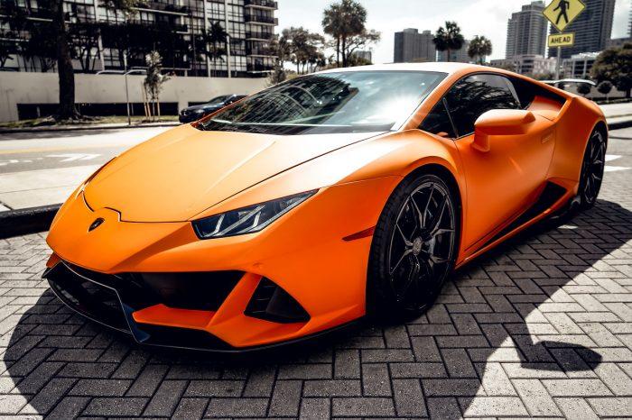 Lamborghini Huracan Matt Orange LP610