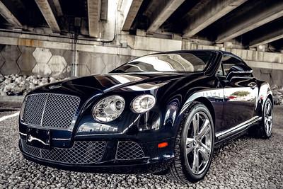 Bentley GTC Blue