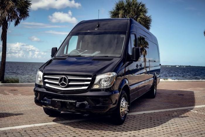 Mercedes Sprinter Van Party Layout