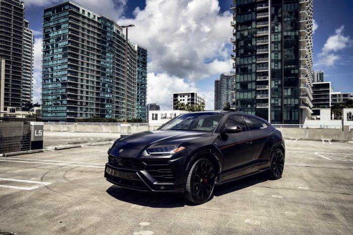 Lamborghini Urus Matt Black