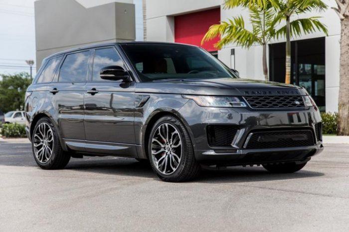 Range Rover Sport Graphite